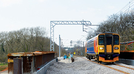 Crewe link road to pass beneath new rail bridge