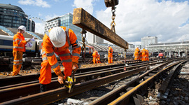 All change for Network Rail