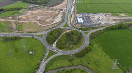 Progress strong on North West link road