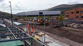 Welsh valleys rail station opens this Sunday
