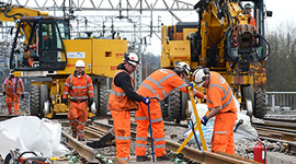 Relief as Easter rail works keep to time