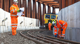 Pay soars for construction workers on the railways