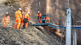 Train services to resume after Harbury Tunnel landslip