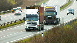 Mixed feelings over lorry speed limit rise